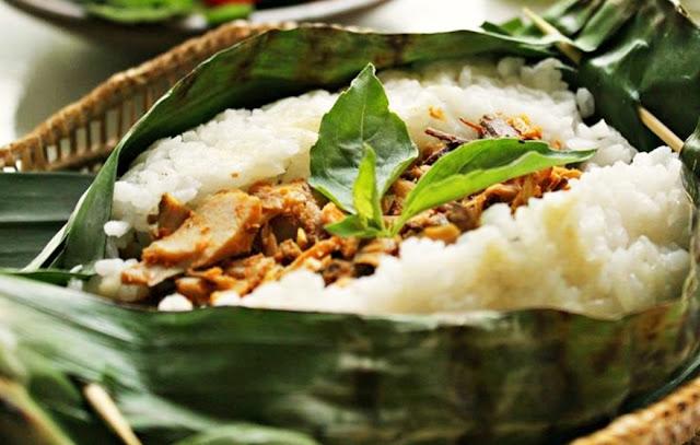 Nasi Bakar Ikan Ikan Tongkol