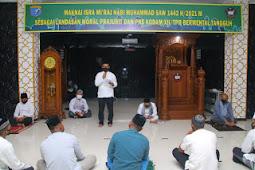 Afkar Mulya Ajak Warga Rindam Tanjungpura Peringati Isra' Mi'raj dengan Disiplin