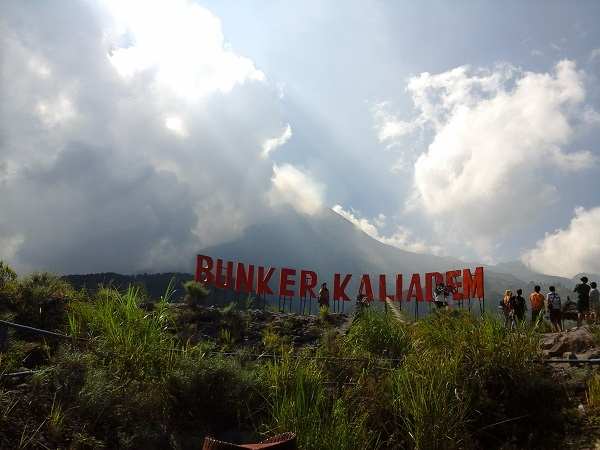 Pemandangan Gunung Merapi Jogja