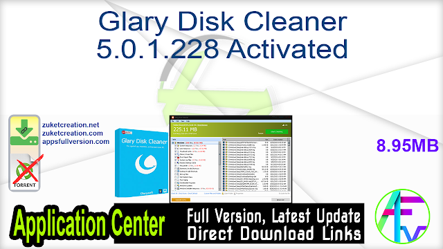 Glary Disk Cleaner 5.0.1.228 Activated