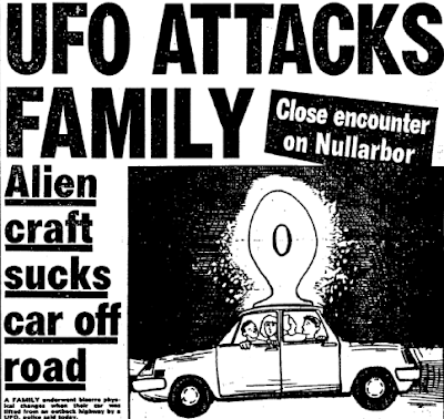UFO Attacks Family