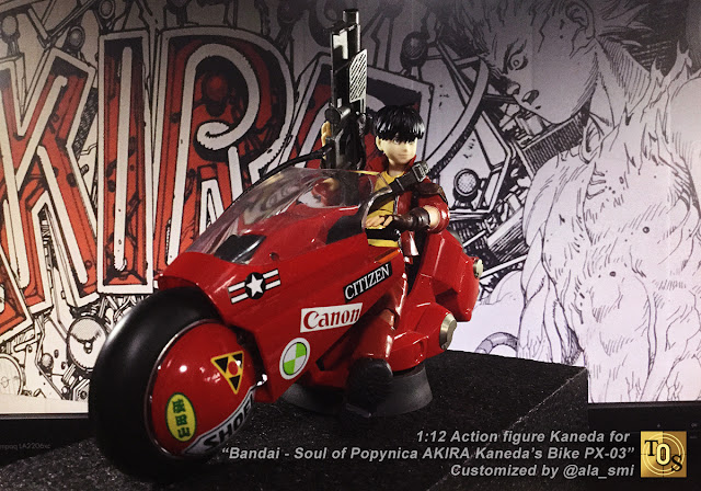 Bandai 1:12 Scale Kaneda Bike by @Ala_Smi