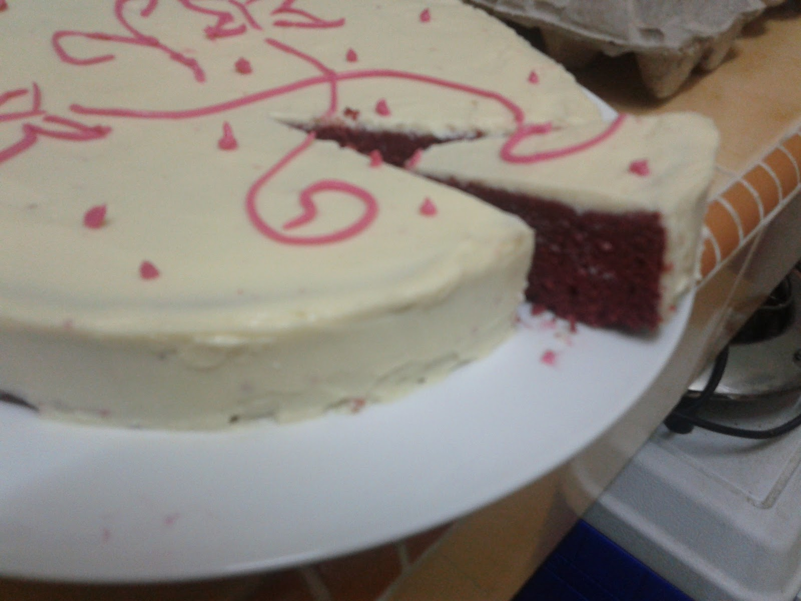 Ok I M Not Really Good In Decorating A Cake So Tunjuk Sikit Je La Gambar Ye Maybe The Looks Like Made Before Carrot With Cream