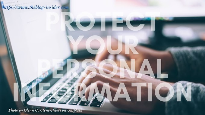 How to protect personal information online?