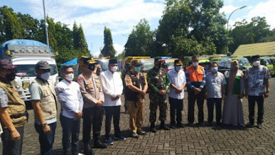 Pemkab Bone Salurkan Bantuan Untuk Korban Gempa Sulbar