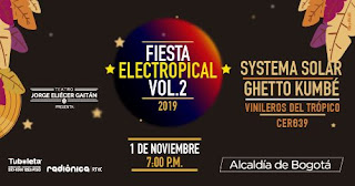 FIESTA ELECTROPICAL 2 SYSTEMA SOLAR,  Ghetto Kumbé y  más
