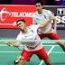 Pasangan Indonesia Fajar/Rian Kandaskan Duo China di Denmark Open