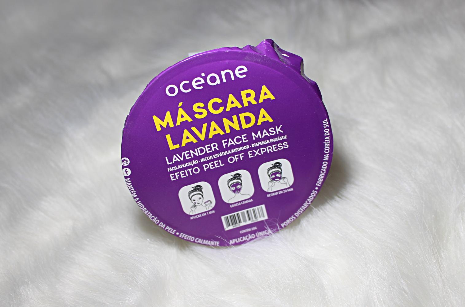 Ocèane lavanda mascara resenha
