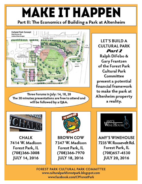 Make It Happen. The Economics of Building a Park at Altenheim - 3 Meetings Upcomin