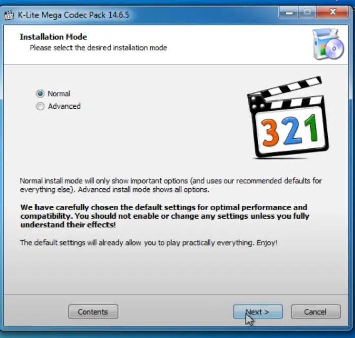 تحميل برنامج كودك 2021 لتشغيل جميع صيغ الفيديو k-lite codec pack