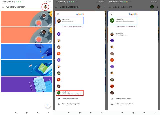 Tutorial Login Google Classroom dengan Akun Belajar.id