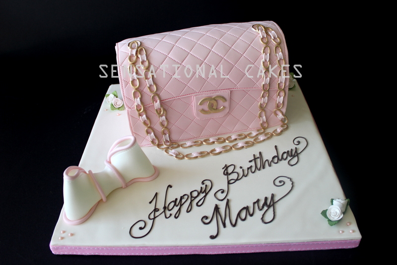 pictures of handbag birthday cakes