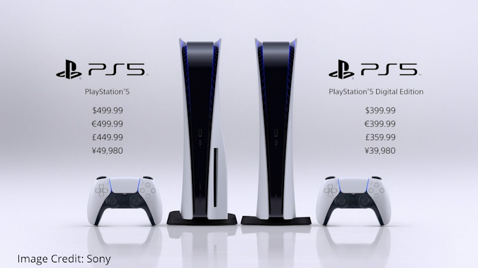Sony Started Pre-orders Of Two Versions Of PS5 At $399 And $499 USD