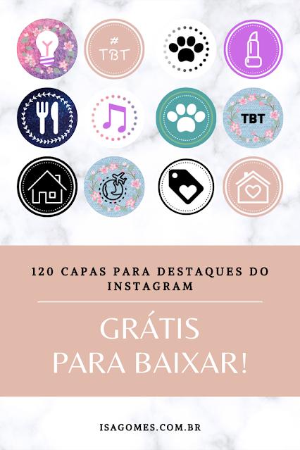 highlights capas gratuitas para destaque do instagram
