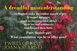 Teaser from Twists of Fate by Joana Starnes