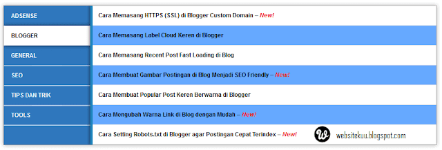 Kumpulan Sitemap Blogger Yang Seo Friendly