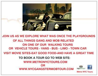 NYC Mob Tour