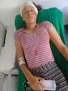 Alta Floresta: Jovem quase perde uma das orelhas em acidente na Vila Marcão e família pede ajuda