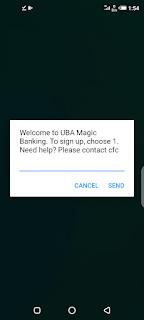 uba mobile banking code