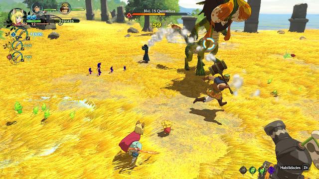 Ni No Kuni II: El Renacer de un Reino Prince´s Edition - Combate