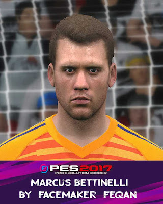PES 2017 Marcus Bettinelli Face by Feqan