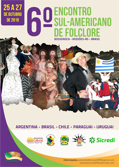 Acesse a página do Encontro de Folclore