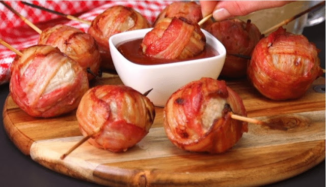 These Stuffed Onion Bombs Will Be Your New Go-To Appetizer Recipe