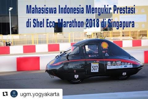 Mahasiswa Indonesia Mengukir Prestasi di Shel Eco-Marathon 2018 Singapura