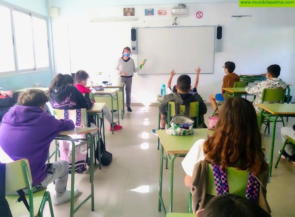 El Grupo de Acción de Educación de La Palma Renovable pone en marcha iniciativas para aumentar la educación medioambiental en las aulas
