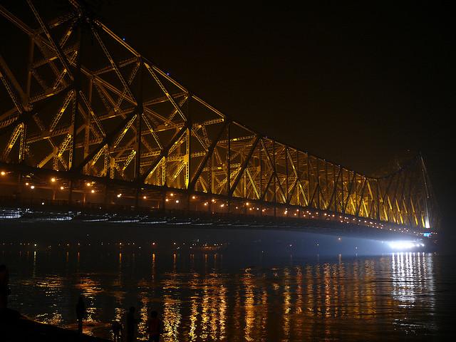 Howrah Bridge, India