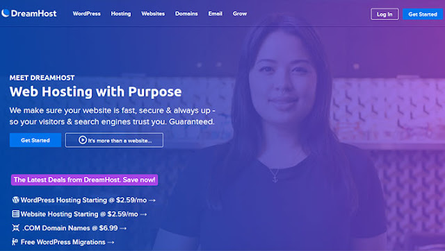Dreamhost Cheap Hosting plan: $2.59/month (36 months) | Renews: $2.59 | Month-to-Month Plan: $4.95/month: eAskme