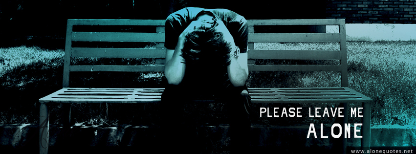 Sad Boy Alone Quotes: Alone Boy Facebook Cover