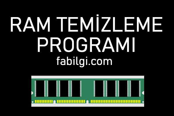 Bilgisayar RAM Temizleme Hızlandırma Programı İndir, Tanıtım