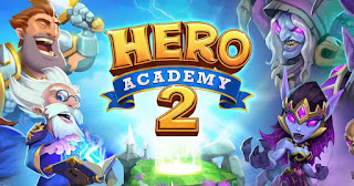 Hero, Academy 2, is a, strategy, cards, game, for, android, and, ios,