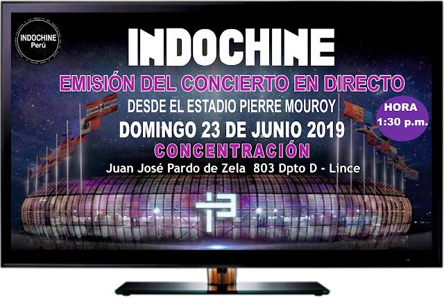 Indochine: Emisión del último concierto en directo desde Francia