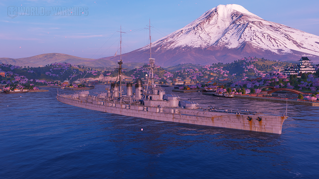 Ishizuchi world of warships