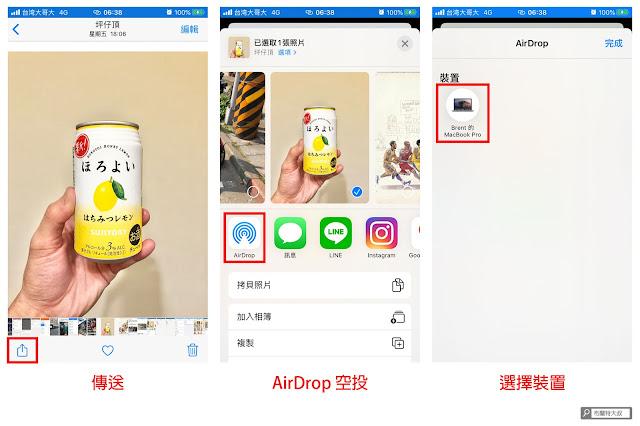 【MAC 幹大事】用 AirDrop 擴充你工作的無限想像 - iPhone 搭配 MacBook 超好用