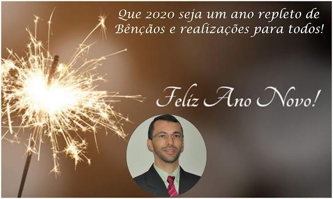 Desejamos um Feliz 2020 para todos!
