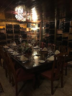 Private Dining Room, Graycliff Wine Cellar - curiousadventurer.blogspot.com