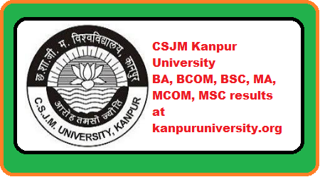 CSJM Kanpur University Result 2019