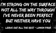 Leave Out All The Rest Lyrics - Linkin Park - Leave Out All the Rest Lyrics | Song Meanings
