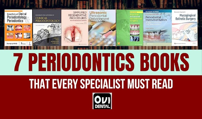 7 PERIODONTICS BOOKS that every specialist must read