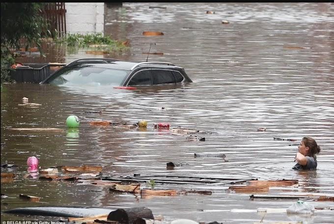 20 dead, 70 people missing as floods destroy buildings in Germany