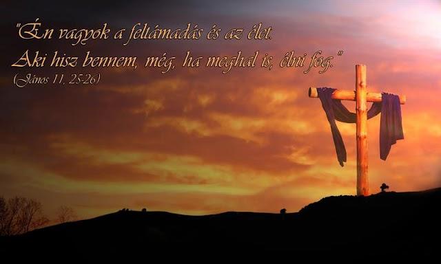 Húsvét 2021. április 4. - Áldott feltámadási ünnepeket kívánunk!