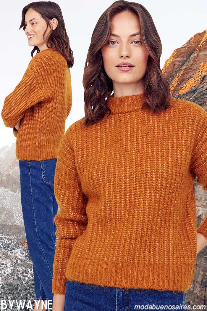 sweaters de moda mujer invierno 2021