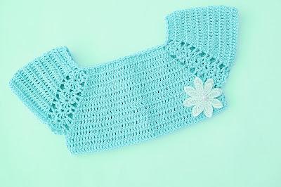 3 - Crochet Imagen Lindo canesú morado a crochet y ganchillo por Majovel Crochet
