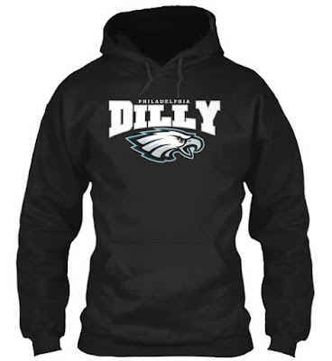Dilly Philadelpia Eagles T Shirt
