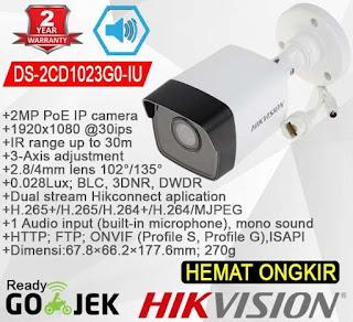 IP Camera HIKVISION DS-2CD1023G0-IU 4mm