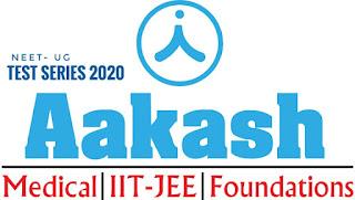 Aakash NEET All India Test Series 2021 for NEET-UG 2021 [PDF]