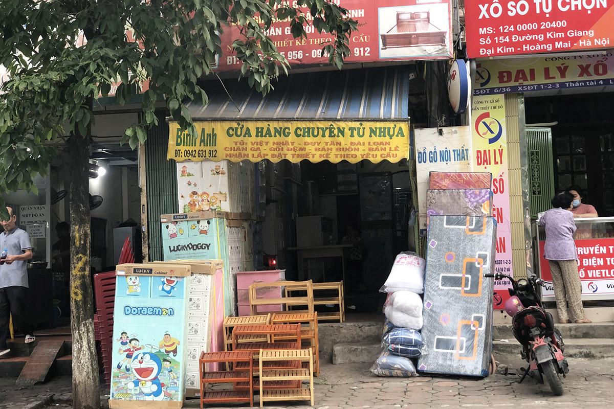 Cửa hàng tủ nhựa Bình Anh ở 256 Kim Giang